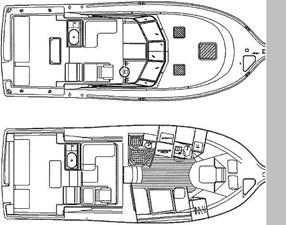 3400 - deck plan/cabin