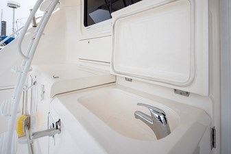 Built in Sink & Engine Room Access