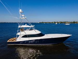 70 Viking 87 Starboard Profile
