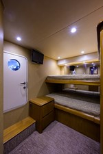 70 Viking 72 Guest Bunk Stateroom