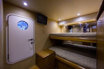 70 Viking 71 Guest Bunk Stateroom