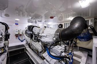 70 Viking 78 Engine Room