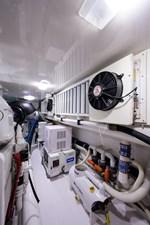 70 Viking 82 Engine Room