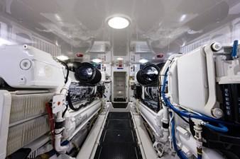 70 Viking 81 Engine Room