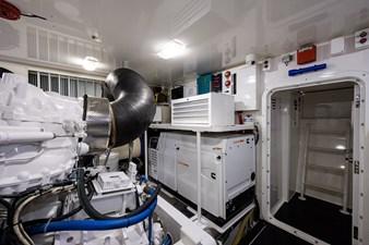 70 Viking 80 Engine Room