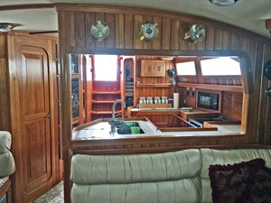 Salon, Looking Aft
