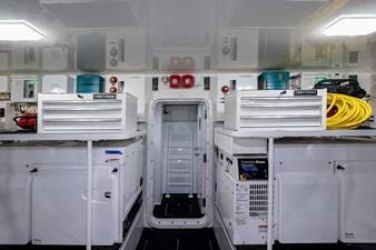 THREE'S ENOUGH 41 Engine Room