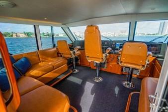 Enclosed Flybridge with Skybridge
