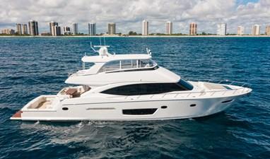 2021 82 Viking Cockpit Motor Yacht