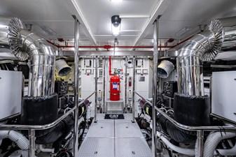 ANDREA VI 52 Engine Room