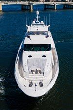 ANDREA VI 63 Aerial Foredeck/Bow