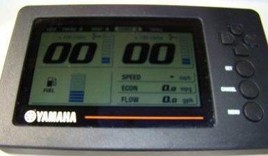 16. Yamaha Gauges