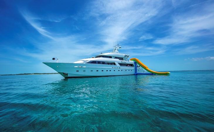 ISLAND HEIRESS at anchor