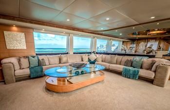 Island Heiress 6 ISLAND HEIRESS bridge deck lounge