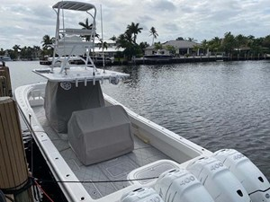 16 Aft View with Helm Covers