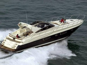 Riva 59 Sister Blue Hull Running