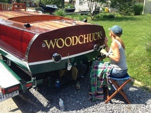 Woodchuck 29 Lettering