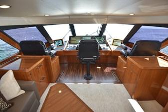 Team Galati 37 2017 Viking 80 Skybridge - Team Galati - Enclosed Bridge