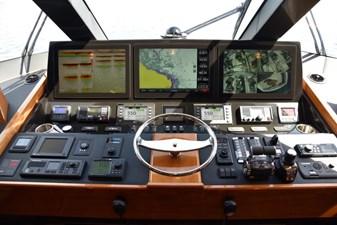 Team Galati 39 2017 Viking 80 Skybridge - Team Galati - Enclosed Bridge
