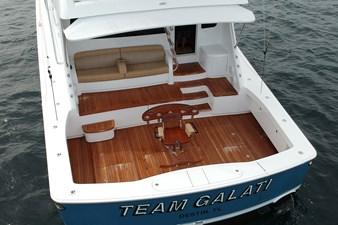 Team Galati 73 2017 Viking 80 Skybridge - Team Galati - Cockpit