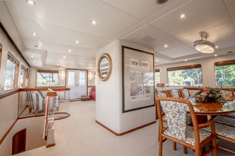 Dining Looking Aft