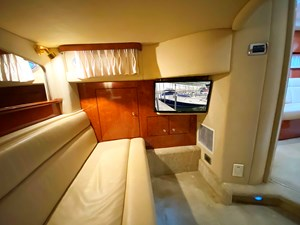 TV in the aft cabin