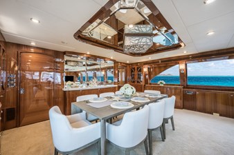 Limitless 5 2010 Hargrave 101 Motor Yacht - Limitless - Dinette