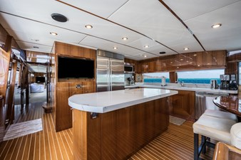 Limitless 9 2010 Hargrave 101 Motor Yacht - Limitless - Galley