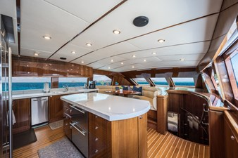 Limitless 10 2010 Hargrave 101 Motor Yacht - Limitless - Galley