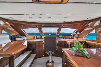 2010 Hargrave 101 Motor Yacht - Limitless - Pilothouse
