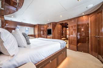 Limitless 26 2010 Hargrave 101 Motor Yacht - Limitless - Master Stateroom