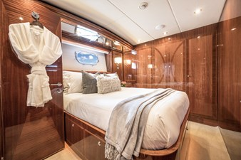 2010 Hargrave 101 Motor Yacht - Limitless - Port Guest Stateroom