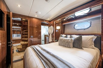 Limitless 30 2010 Hargrave 101 Motor Yacht - Limitless - Port Guest Stateroom