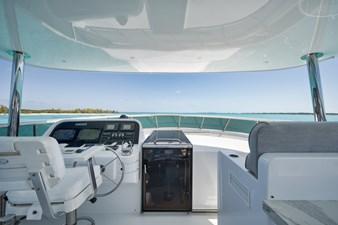 2010 Hargrave 101 Motor Yacht - Limitless - Flybridge Helm