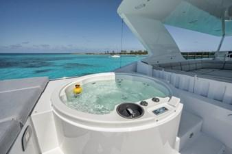 Limitless 46 2010 Hargrave 101 Motor Yacht - Limitless - Flybridge Hot Tub