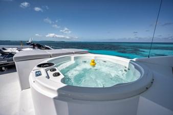 2010 Hargrave 101 Motor Yacht - Limitless - Flybridge Hot Tub