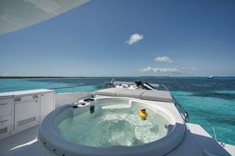 Limitless 48 2010 Hargrave 101 Motor Yacht - Limitless - Flybridge Hot Tub
