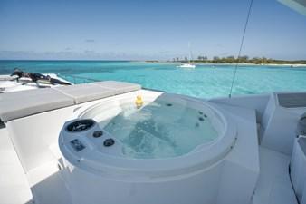 Limitless 49 2010 Hargrave 101 Motor Yacht - Limitless - Flybridge Hot Tub