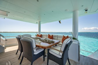 Limitless 51 2010 Hargrave 101 Motor Yacht - Limitless - Aft Deck