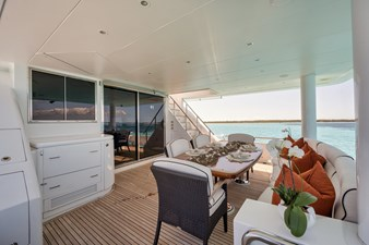 2010 Hargrave 101 Motor Yacht - Limitless - Aft Deck