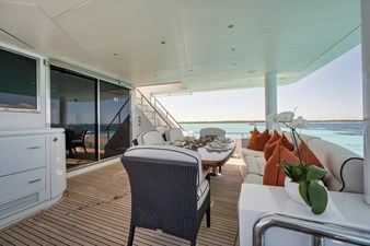 Limitless 54 2010 Hargrave 101 Motor Yacht - Limitless - Aft Deck