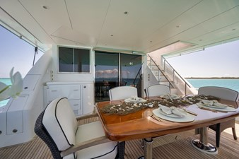Limitless 55 2010 Hargrave 101 Motor Yacht - Limitless - Aft Deck
