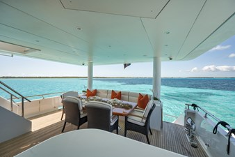 Limitless 56 2010 Hargrave 101 Motor Yacht - Limitless - Aft Deck