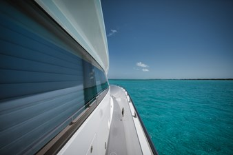 Limitless 58 2010 Hargrave 101 Motor Yacht - Limitless - Starboard to Bow