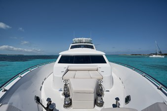 2010 Hargrave 101 Motor Yacht - Limitless - Bow