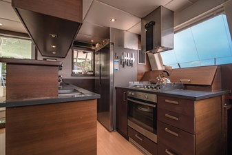 Galley on main deck