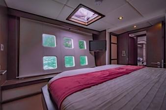 Guest cabin  window view