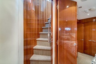Stairs to Pilothouse