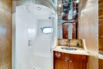 VIP Shower Stall with Optional Portlight