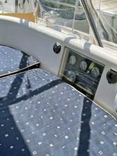 WILLOW 26 Cockpit, Port Side